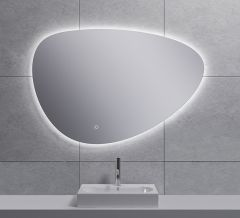 Uovo condensvrije LED spiegel dimbaar 100 cm - 38.4166