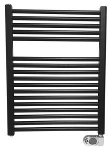 Elara elektrische radiator 76,6 x 60 cm mat zwart - 41.3590