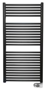 Elara elektrische radiator 118,5 x 60 cm mat zwart - 41.3591